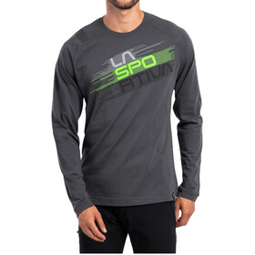 La Sportiva Stripe Evo Camisa Manga Larga Hombre, carbon